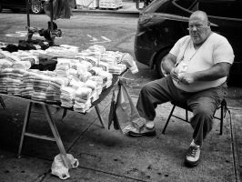 Chinatown Sock Salesman by PatrickMonnier