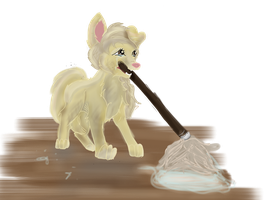 No floors for me to sweep  by XxFlameFrost101xX
