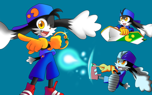 Some Klonoa by QuesoGr7