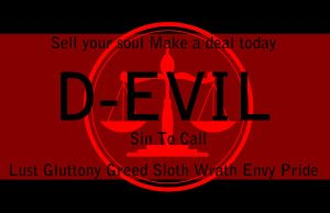 business card : Devil Card 2014 by darshan2good