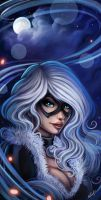 Black Cat by EdgarSandoval