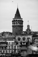Ghost of the Galata Tower by Masisus