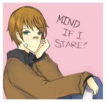 NNK: Mind if I Stare? by Ghalory20