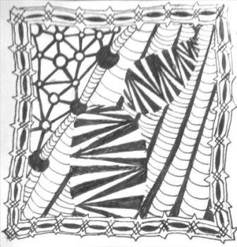 Free For All Zentangle by crystal-of-ix