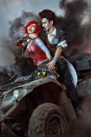 Borderlands 2_Rivals by SoranoSuzu