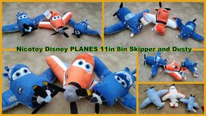 Nicotoy Disney Planes Dusty and Skippers by Vesperwolfy87