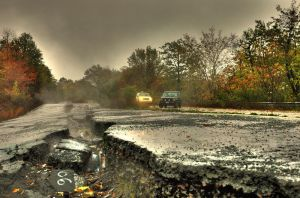HDR Centralia, PA - Silent Hil by GhostDakota