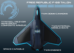 Free Republic F-68 Talon by EmperorMyric