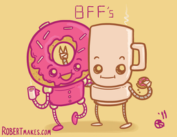 Coffee and Donuts by RobertMakes