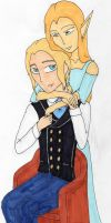 Elias and Riel by LainaInverse