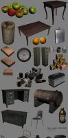 Old 3D models ~2007-2009 by Spex84