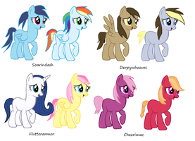 Mlp Shipping Adoptables (Second edition) by vega37