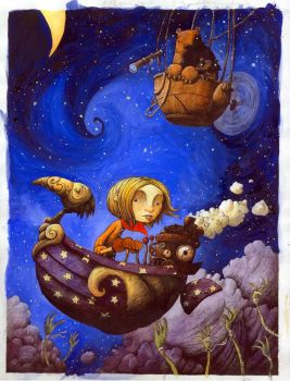 Cover to Maddy Kettle by eric-orchard