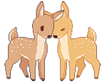little deers by enolle