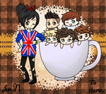 Hana and 1D by rainbowstache