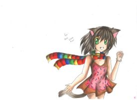 Human Nyan Cat by SophiaAmeena