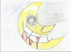 Soul Eater Moon by RedRoseOnTheCoffin