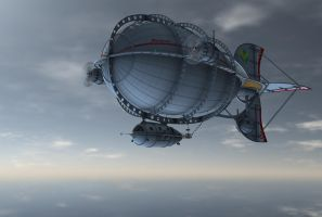 Zeppelin background 1 by indigodeep
