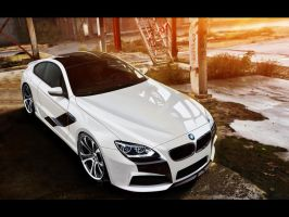 BMW M6 by blackdoggdesign
