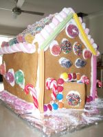 Ginger Bread House by Tora-Luv10