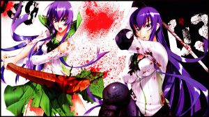 Highschool Of The Dead - Saeko (Wallpaper 05) by Dr-Erich