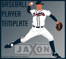 Baseball Player Template by JayJaxon
