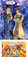 Doctor in watercolors by Fonora