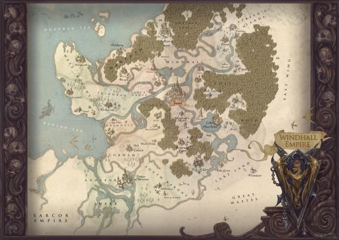 Map of WindHall by Hellstern