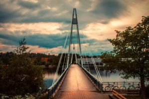 Mattilanniemi Bridge by m-eralp