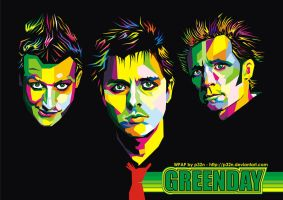 GREEN DAY IN WPAP by p32n