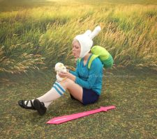 Fionna and Cake cosplay: 1 by Not-TheDoctor