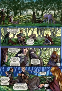 Prydain: the Graphic Novel, Chapter 10 Page 1 by saeriellyn