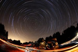 Perseid Meteor Shower by JettDow