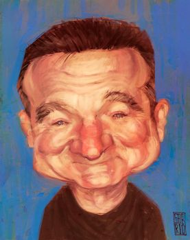 Robin Williams by gabrio76