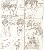 Death Note MPreg problem by Loves-Chihuahuas