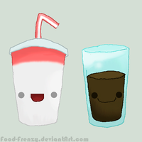 Milkshake and Chocolate Milk by Nomiiko