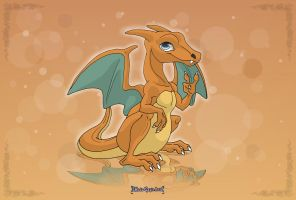Commission: Charizard by MySweetQueen
