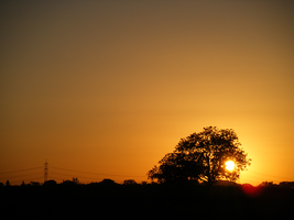 july sunset II by Lucy-Redgrave