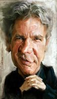 Harrison Ford, by Jeff Stahl by JeffStahl