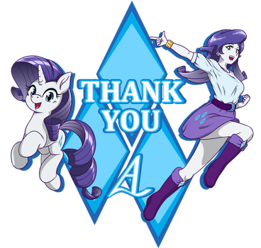Rarity: Dual-Universe Thanks by AcesRulez13