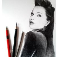 Lana Parrilla (evil queen) by MLS-art