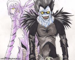 Ryuk x Rem by markkevinmanding