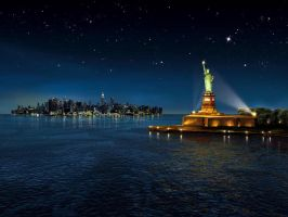 LIBERTY night by illugraphy