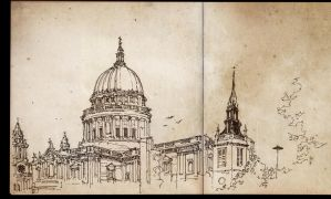 saint paul cathedral by PinGponG83