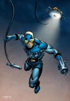 Blue Beetle by stokesbook