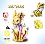 PokeFusion Joltales by parrishbroadnax