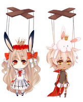 EXTRA: Bunny King + Bunny Queen by Staccatos