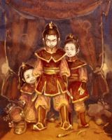 Avatar _ Azula's daughters by BryttKrou