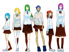 .:KuroBasu:. Kiseki no Girls v2 by Mineha