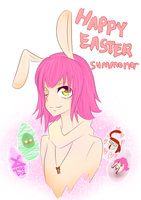 Happy Easter, Summoner! by mako-t